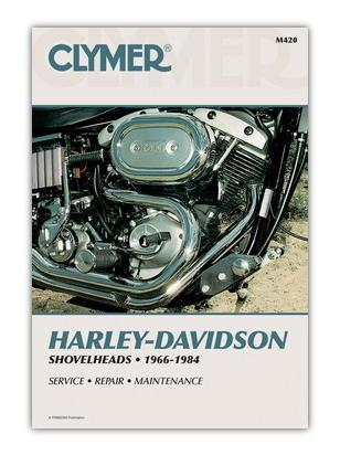 Clymer Manual - Harley Davidson Shovel Heads 1966-1984