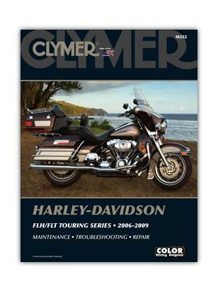 Picture of Clymer Manual - Harley Davidson FLH/FLT Touring Series 2006-2009