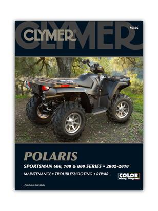 Picture of Clymer Manual - Polaris Sportsman 600, 700 & 800 2002-2010