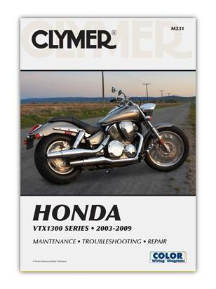 Picture of Clymer Manual - Honda VTX1300 2003-2009