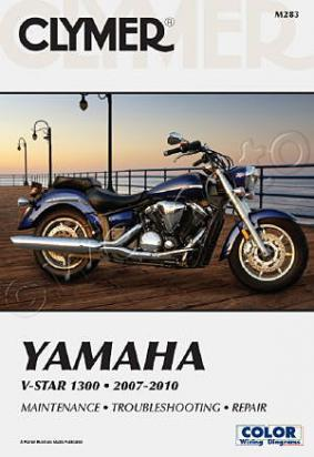 Picture of Clymer Manual - Yamaha VStar 1300 & Tourer 2007-2010