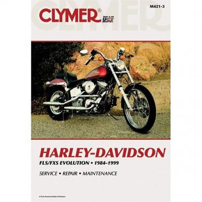 Clymer Manual - Harley Davidson FLS/FXS Evolution 1984-1999