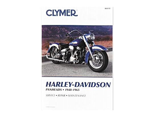 Picture of Clymer Manual - Harley Davidson Panheads 1948-1965