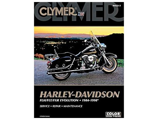 Clymer Manual - Harley Davidson FLH/FLT/FXR Evolution 1984-1998