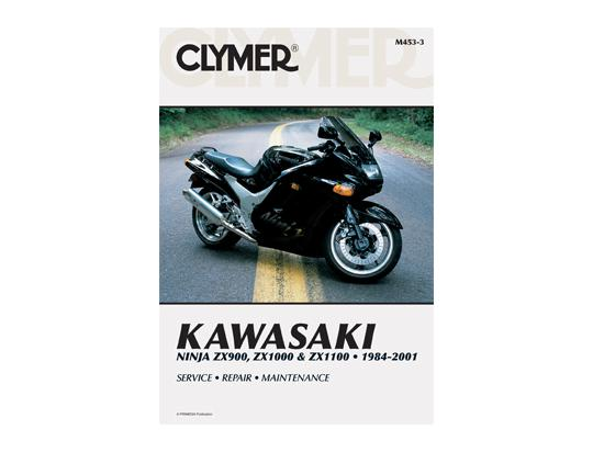 Picture of Clymer Manual - Kawasaki Ninja GPZ900 (ZX900) ZX10 ZX1100 1984-2001