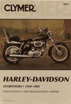 Picture of Clymer Manual - Harley Davidson Sportsters 1959-1985