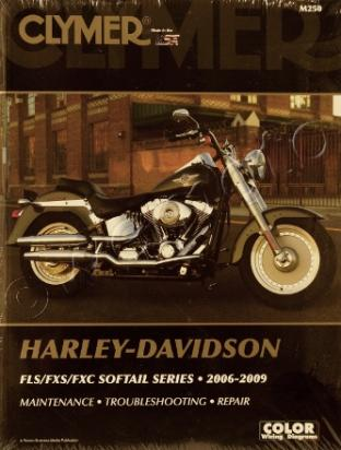 Picture of Clymer Manual - Harley Davidson FLS/FXS/FXC Softtail Series 2006-2009
