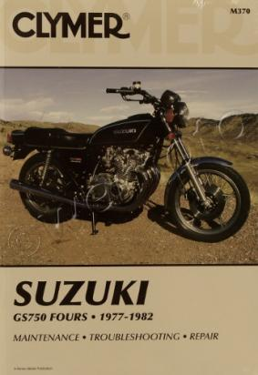 Picture of Clymer Manual - Suzuki GS750 Fours, 1977-1982