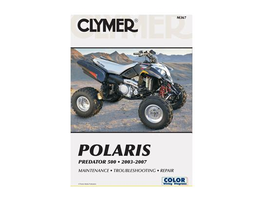 Picture of Clymer Manual - POLARIS PREDATOR 500 2003-2007