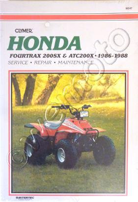 Picture of Clymer Manual - Honda ATC200X & Fourtrax 200SX, 1986-1988