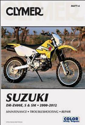 Picture of Clymer Manual - Suzuki DR-Z400 E/S/SM 2000-2012