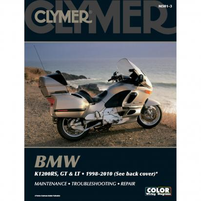 Clymer Manual - BMW K1200RS  LT & GT 1998-2010