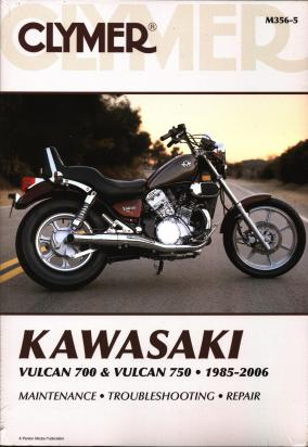 Picture of Clymer Manual - Kawasaki VN 700-750cc Vulcan 1985-2006