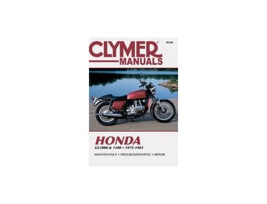 Picture of Clymer Manual - Honda GL1000 & 1100 Gold Wing, 1975-1983