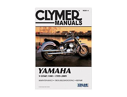 Picture of Clymer Manual - Yamaha V-Star 1100, 1999-2009