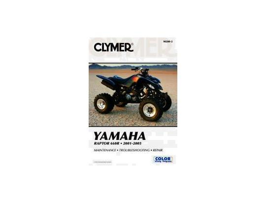 Picture of Clymer Manual - Yamaha Raptor YFM660R 2001-2005