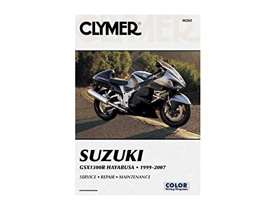 Picture of Clymer Manual - Suzuki GSX1300R Hayabusa, 1999-2007