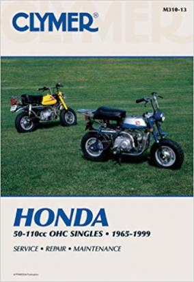 Picture of Clymer Manual - Honda 50-110cc, OHC Singles, 1965-1999