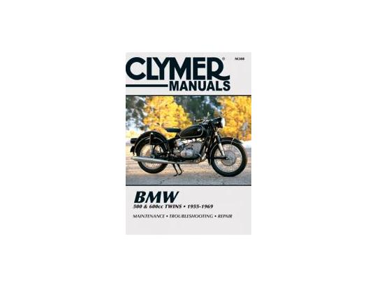 Clymer Manual - BMW 500 & 600cc Twins, 1955-1969