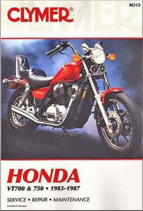 Picture of Clymer Manual - Honda VT700 & 750, 1983-1987