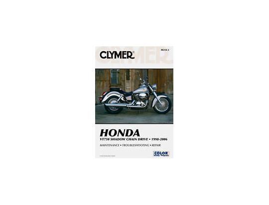Clymer Manual - Honda VT750 Shadow Chain Drive, 1998-2005