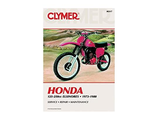 Picture of Clymer Manual - Honda 125-200cc Elsinores, 1973-1980