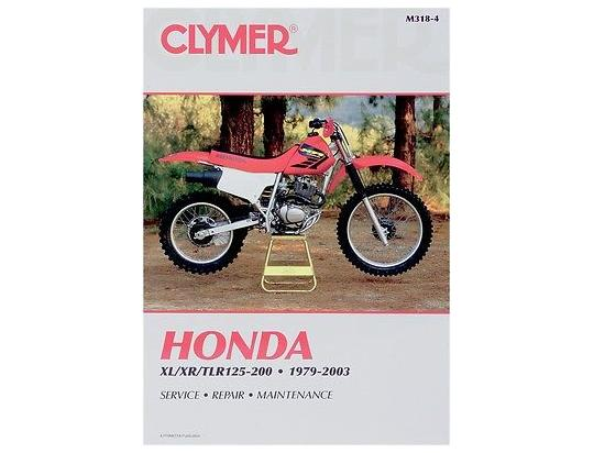 Picture of Clymer Manual - Honda XL/XR/TLR 125-200, 1979-2003