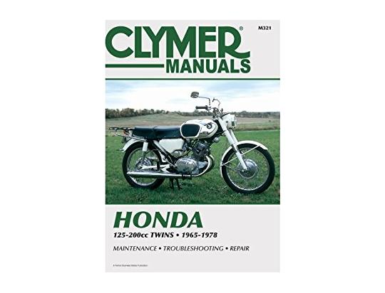 Picture of Clymer Manual - Honda 125-200cc Twins, 1965-1978
