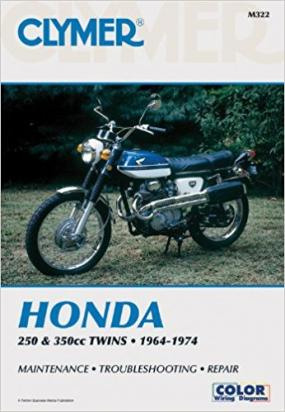 Picture of Clymer Manual - Honda 250-350cc, 1964-1974
