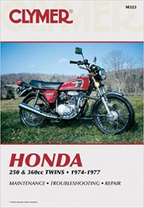 Picture of Clymer Manual - Honda 250-360cc Twins, 1974-1977