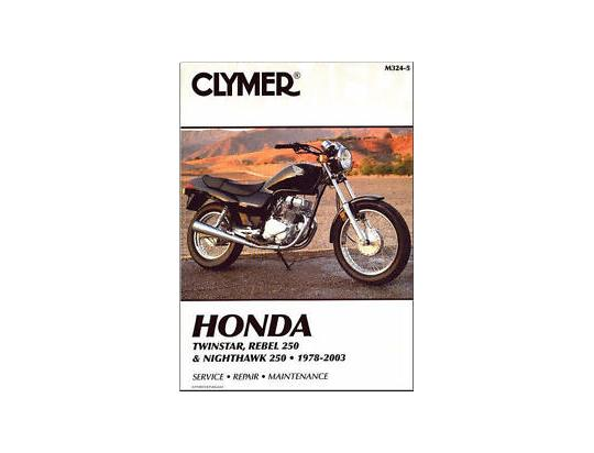 Picture of Clymer Manual - Honda CM185, CM200, CMX250 Rebel, CB250 Nighthawk 1978-2003