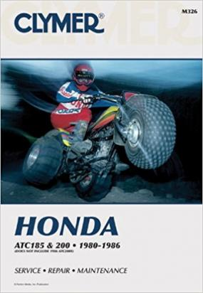 Picture of Clymer Manual - Honda ATC185 & 200, 1980-1986