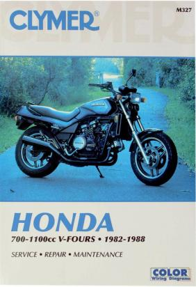 Picture of Clymer Manual - Honda 700-1100cc V-Fours, 1982-1988