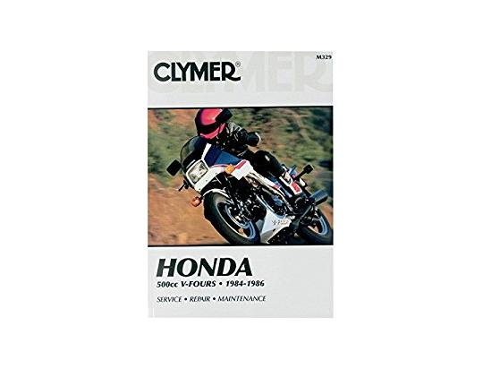 Picture of Clymer Manual - Honda 500cc V-Fours, 1984-1986