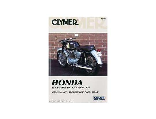 Picture of Clymer Manual - Honda 450 & 500cc, 1965-1976