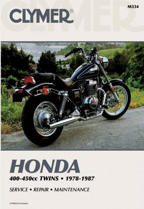 Picture of Clymer Manual - Honda 400-450cc, 1978-1987