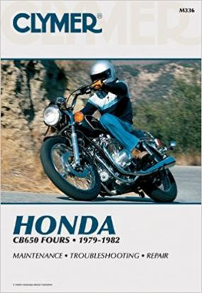 Picture of Clymer Manual - Honda CB650 Fours, 1979-1982