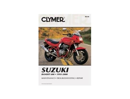 Picture of Clymer Manual - Suzuki Bandit 600, 1995-2000