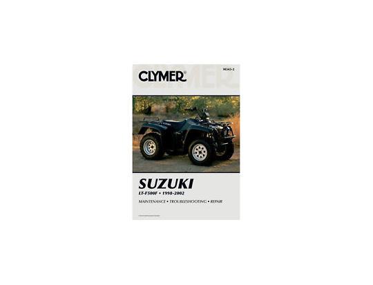 Picture of Clymer Manual - Suzuki LTF500F Quadrunner, 1998-2000