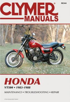 Picture of Clymer Manual - Honda VT500, 1983-1988