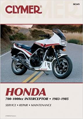 Picture of Clymer Manual - Honda 700-1000cc Interceptor, 1983-1985