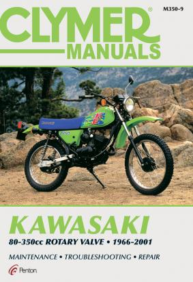 Picture of Kawasaki KE 100 B19 00 Manual Clymer