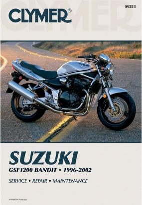 Picture of Clymer Manual - Suzuki GSF1200 Bandit, 1996-2003
