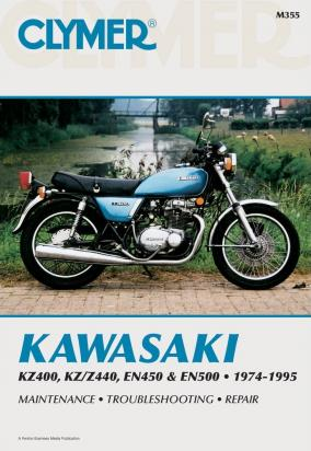 Picture of Clymer Manual - Kawasaki KZ400, KZ/Z440, EN450 & EN500, 1974-1995