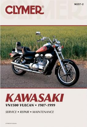 Picture of Clymer Manual - Kawasaki VN 1500 Vulcan, 1987-1999