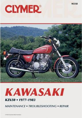 Picture of Clymer Manual - Kawasaki KZ650, 1977-1983