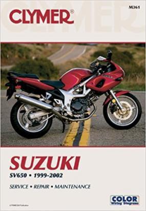 Picture of Clymer Manual - Suzuki SV650, 1999-2002