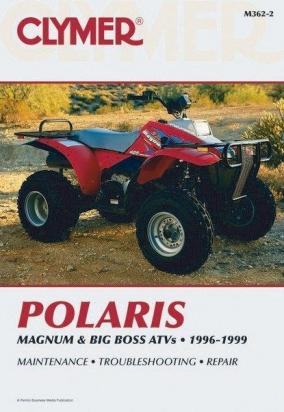 Picture of Clymer Manual - Polaris Magnum & Big Boss ATVs 1996-1998