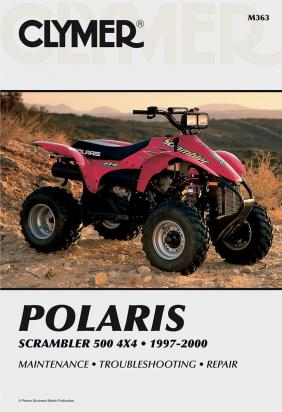 Picture of Clymer Manual - Polaris Scrambler 500 4x4, 1997-2000