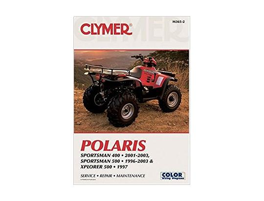 Picture of Clymer Manual - Polaris Sportsman/Xplorer, 1996-2008